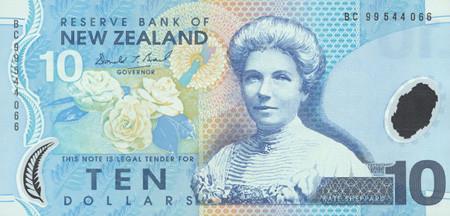 10 New Zealand Dollars